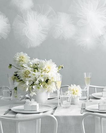 Martha Stewart White Wedding