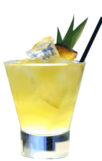 Yellow bird cocktail photo